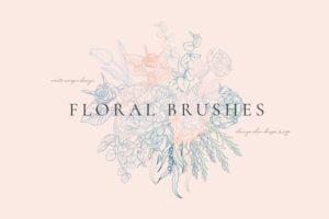 Download Floral Flexible Illustrator Brushes