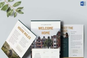 Download Airbnb Home Rental Welcome Book