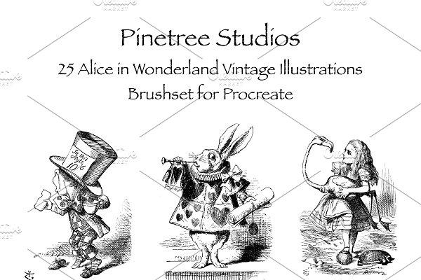 Download Procreate Alice in Wonderland