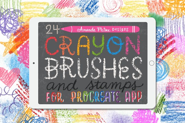 Download Procreate Crayon Brushes and Stamps