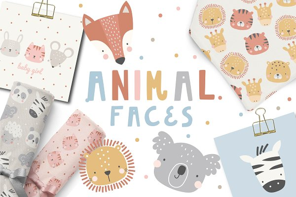 Download Cute Animal Faces