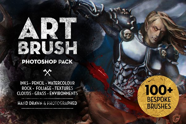 Download Matt's Photoshop Art Brush Set
