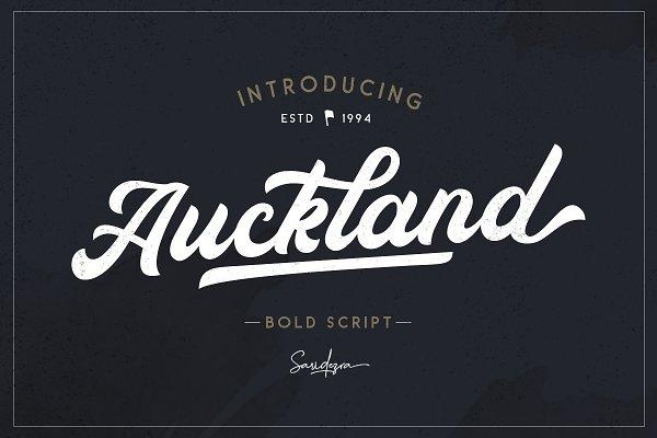 Download Auckland - Bold Script