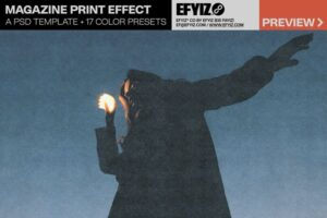 Download MAGAZINE PRINT EFFECT