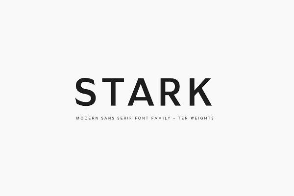 Download Stark - A Modern Sans Serif