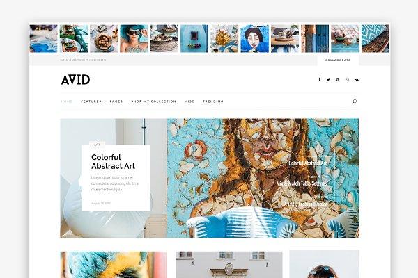 Download Avid - WordPress Blog Theme