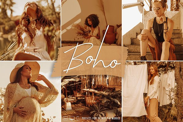 Download Bohemian Brown Lightroom Presets