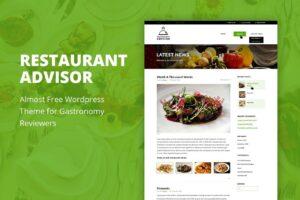 Download Restaurant Advisor - WordPress Theme