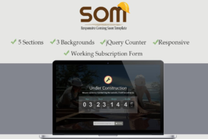 Download Responsive Coming Soon Theme