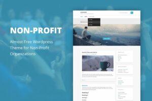 Download Non Profit - Cheap Wordpress Theme