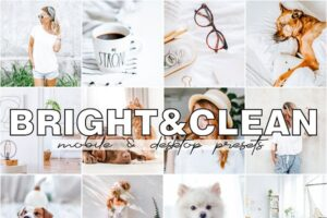 Download Bright and Clean Lightroom Presets
