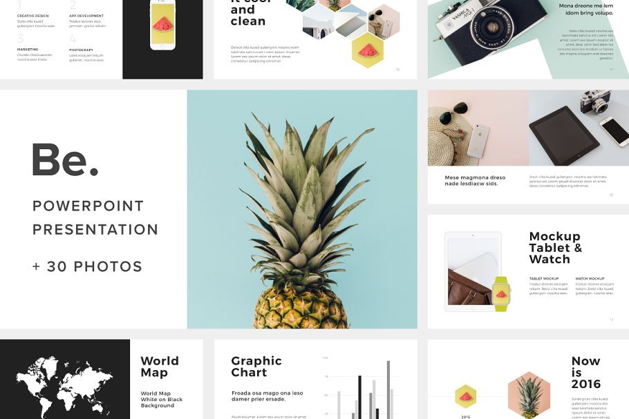 Download Be Powerpoint Template +30 Photos