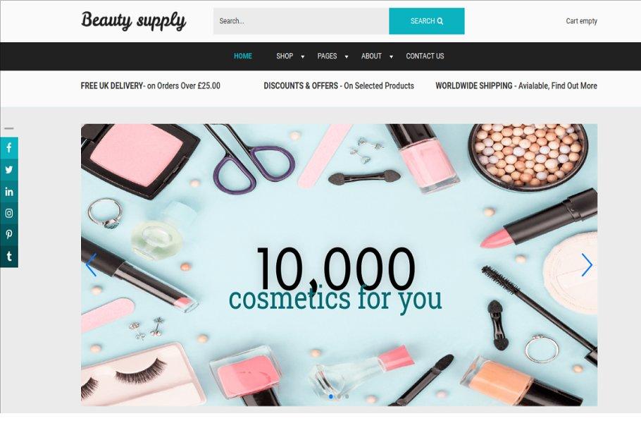 Download Beauty Supply-Joomla eCommerce theme