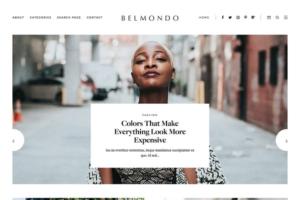 Download Responsive Blogger Template Belmondo