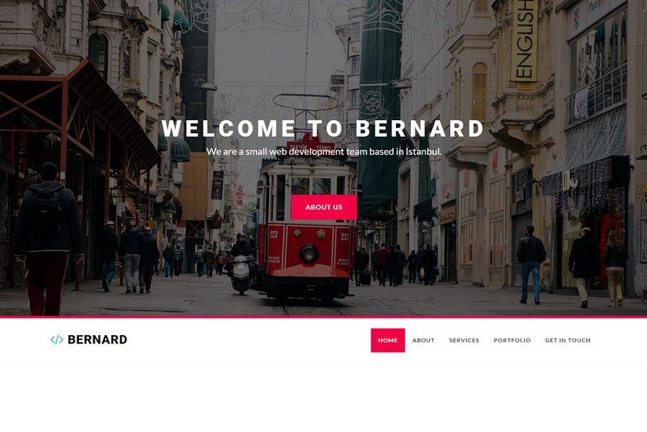 Download Bernard - Creative Agency Template