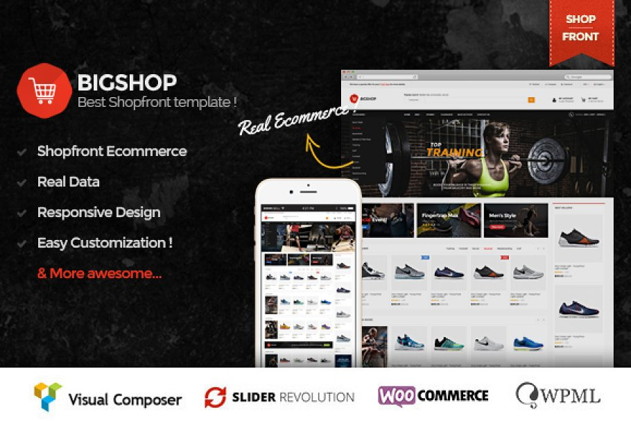 Download Bigshop - Responsive eCommerce Theme