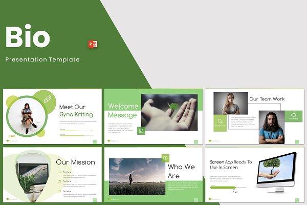 Download Bio - Powerpoint Template