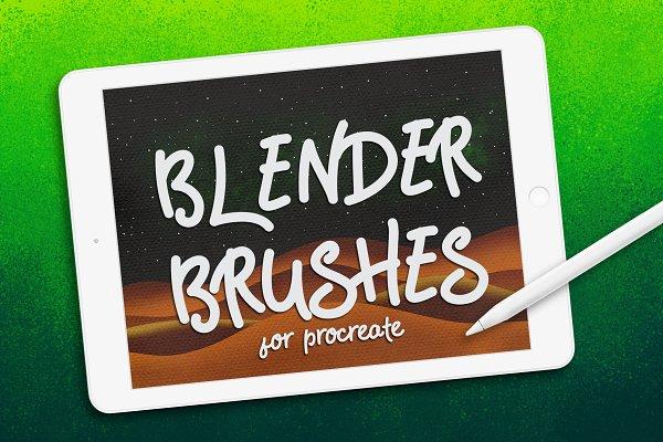 Download BLENDER BRUSHES FOR PROCREATE