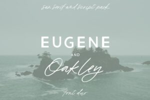 Download Eugene and Oakley Font Duo