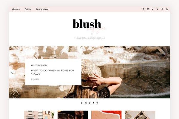 Download Blush Magazine - Blog & Shop Theme
