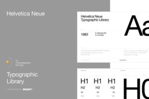 Download Helvetica Neue - Typographic Library