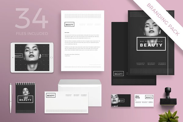 Download Branding Pack   Your Skin Beauty