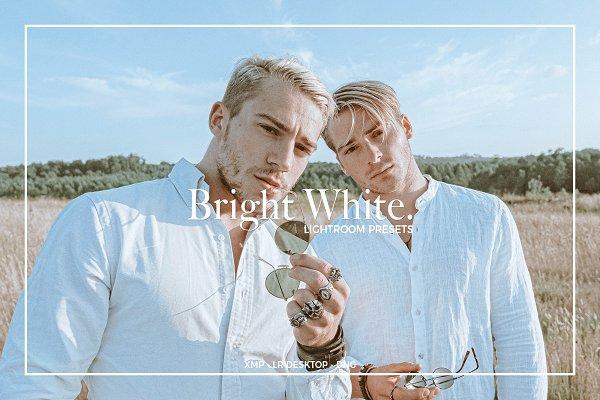 Download BRIGHT WHITE LIGHTROOM PRESETS