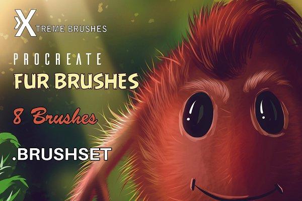 Download Procreate Fur Brushes