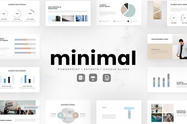 Download MINIMAL Presentation Bundle
