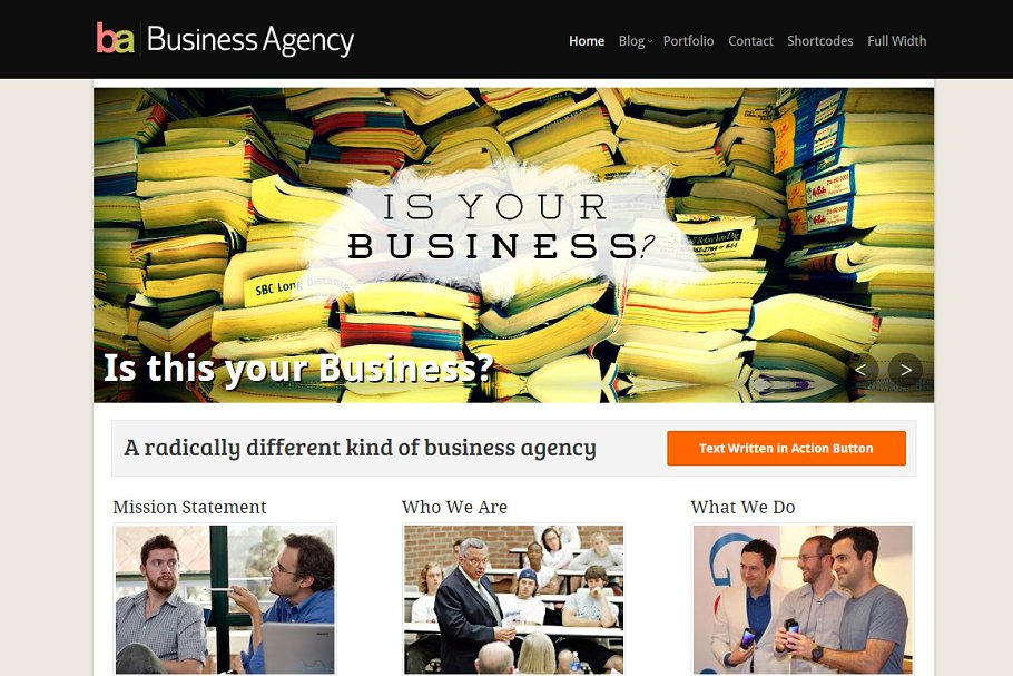 Download BusinessAgency Business Theme