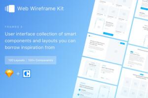 Download Frames 3 - Web Wireframe Kit