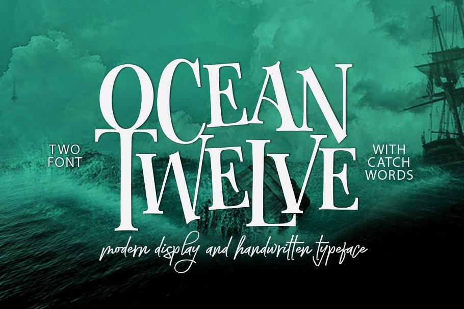 Download Ocean Twelve Font Duo