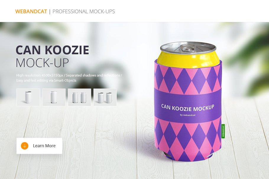 Download Can Koozie Mock-up