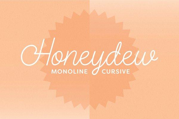 Download Honeydew Script Calligraphy Font