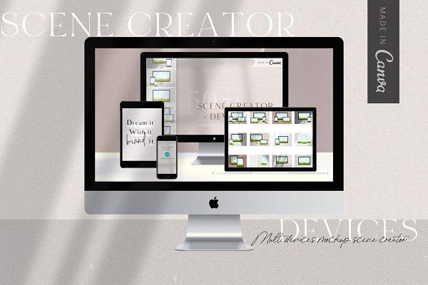 Download Canva Devices Mockup Scene Creator
