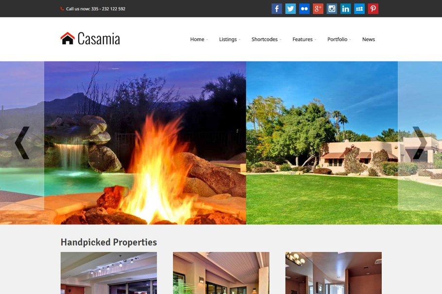 Download Casamia - Real Estate WordPress