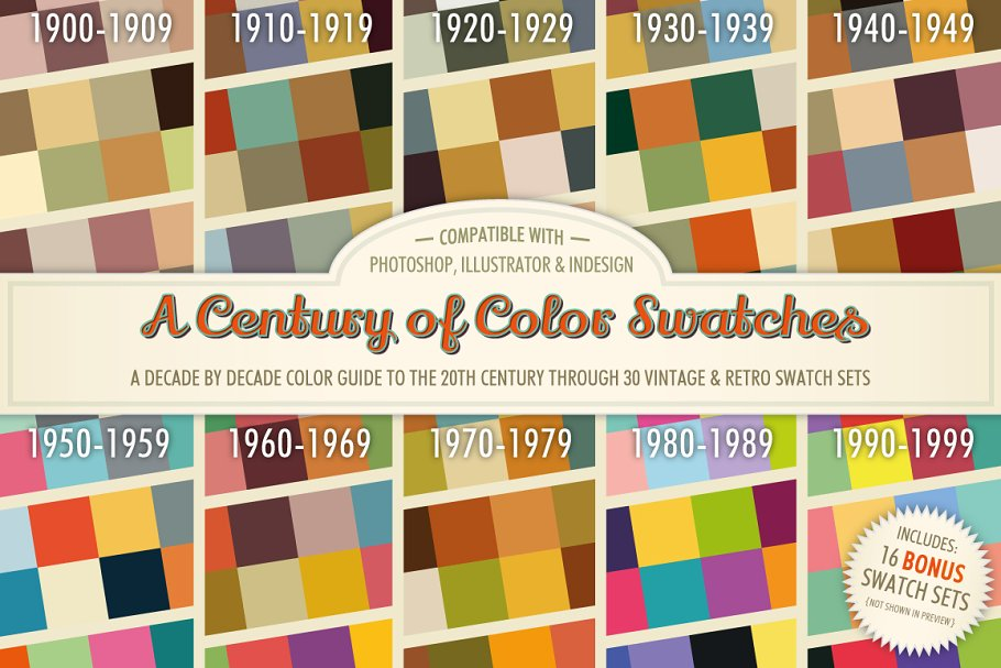 Download A Century of Color Swatches + Bonus