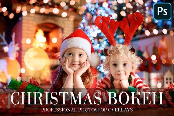 Download Photoshop Overlays - Christmas Bokeh