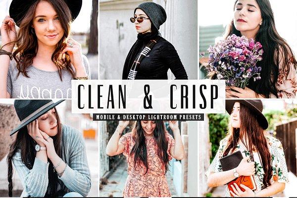 Download Clean & Crisp Lightroom Presets Pack