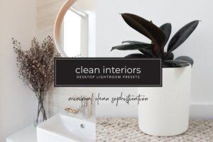 Download Minimalist interior lightroom preset