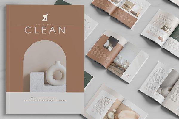 Download Clean magazine multi-purpose book