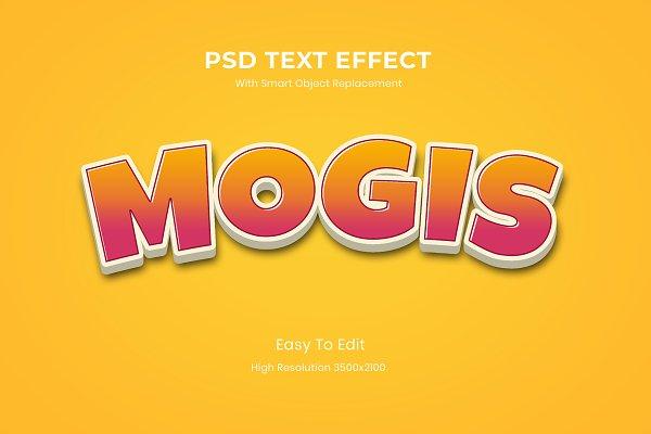 Download 3D Cartoon Game Logo Text Effect