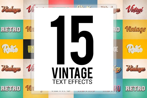 Download Retro/Vintage Text Effects
