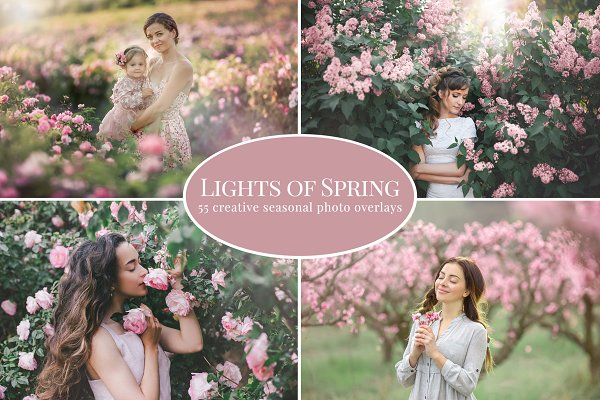 Download Lights of Spring photo overlays