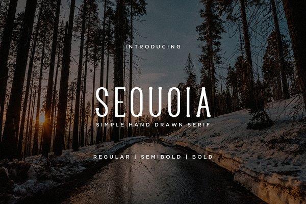 Download Sequoia Font