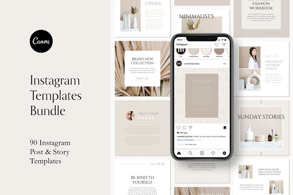 Download Instagram Templates Pack For Canva