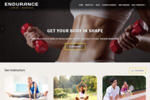 Download Endurance Fitness Theme