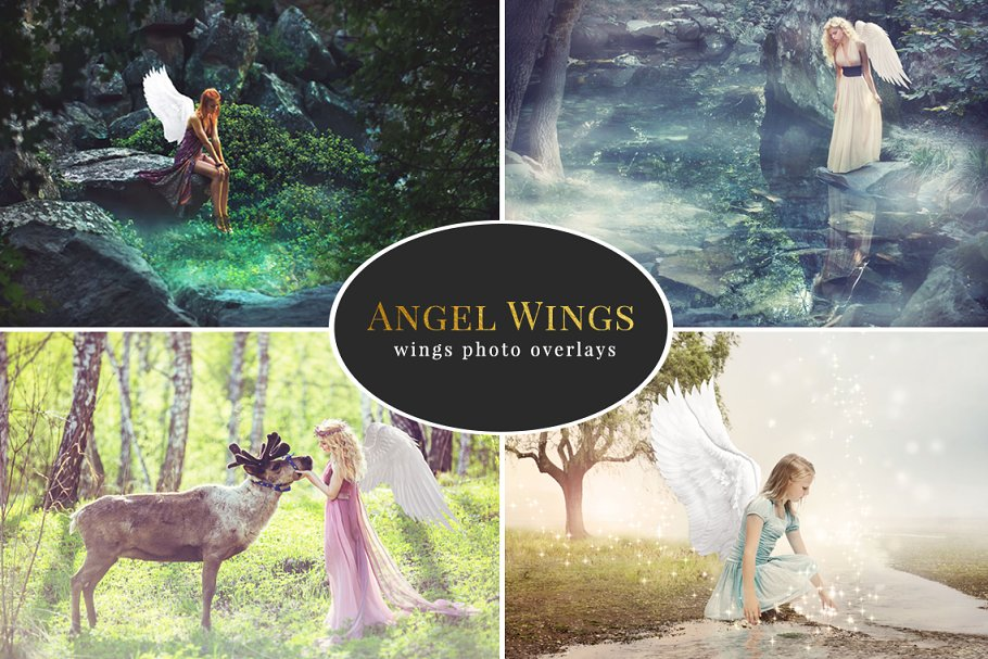 Download Angel Wings – photo overlays