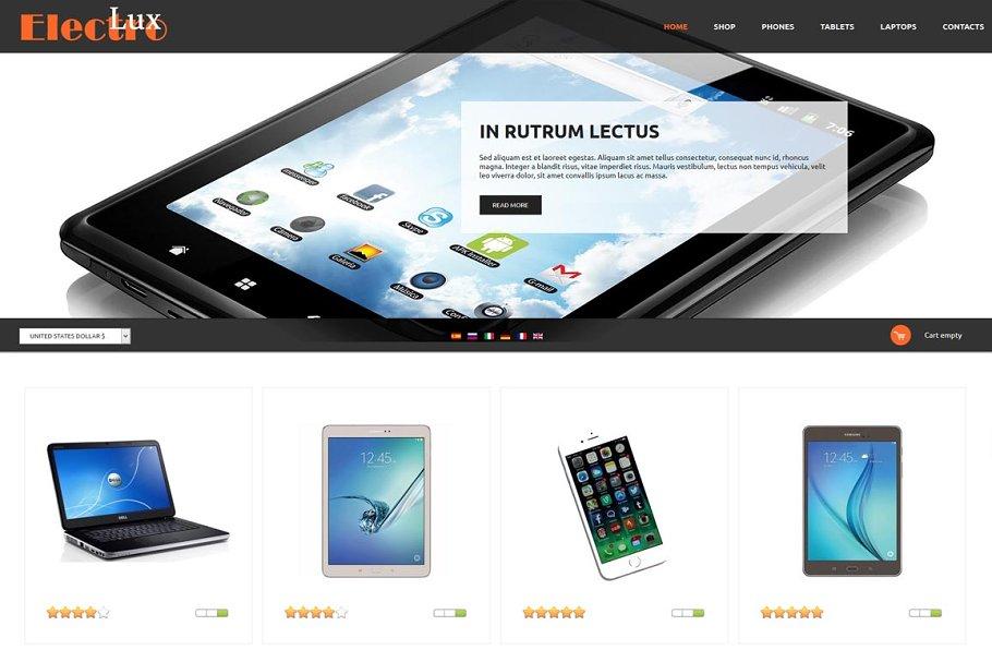 Download Electro Lux - eShop Joomla Theme