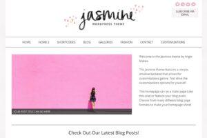 Download The Jasmine Feminine Wordpress Theme